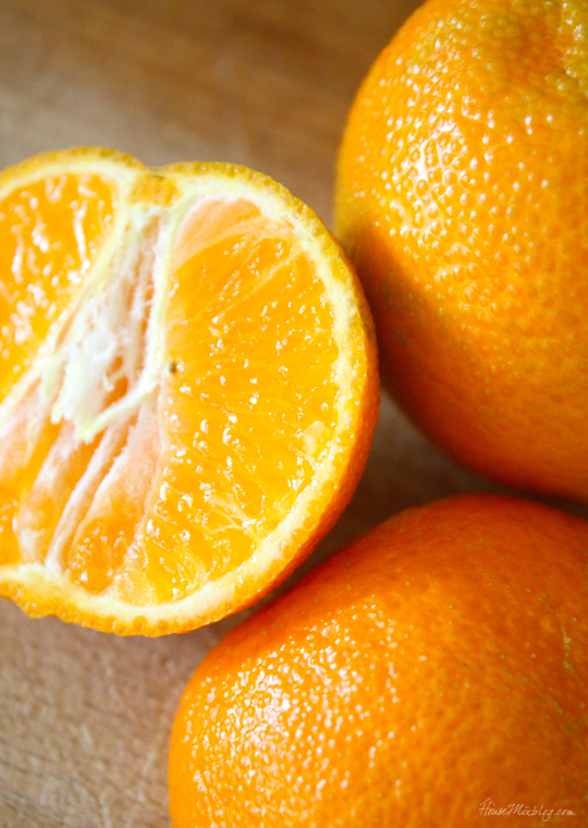 Health pregnancy snacks - oranges