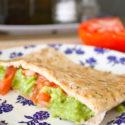 Healthy pregnancy ideas - pita and guacamole