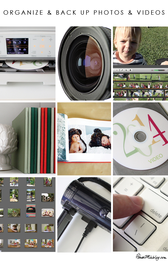How to organize and back up photos and videos