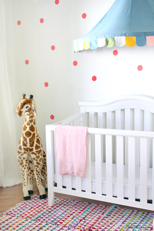 Cheap and easy confetti wall with fabric and spray starch