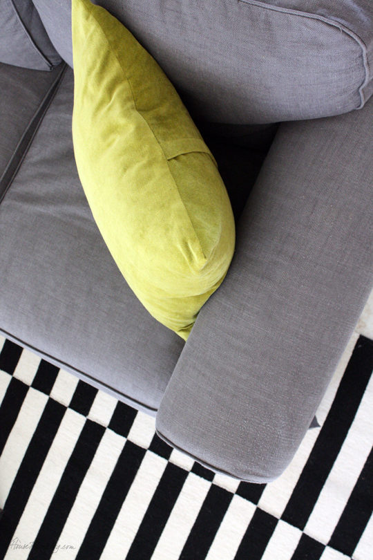 DIY envelope pillows