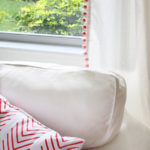 Pom pom curtains and curtain tricks you might not know
