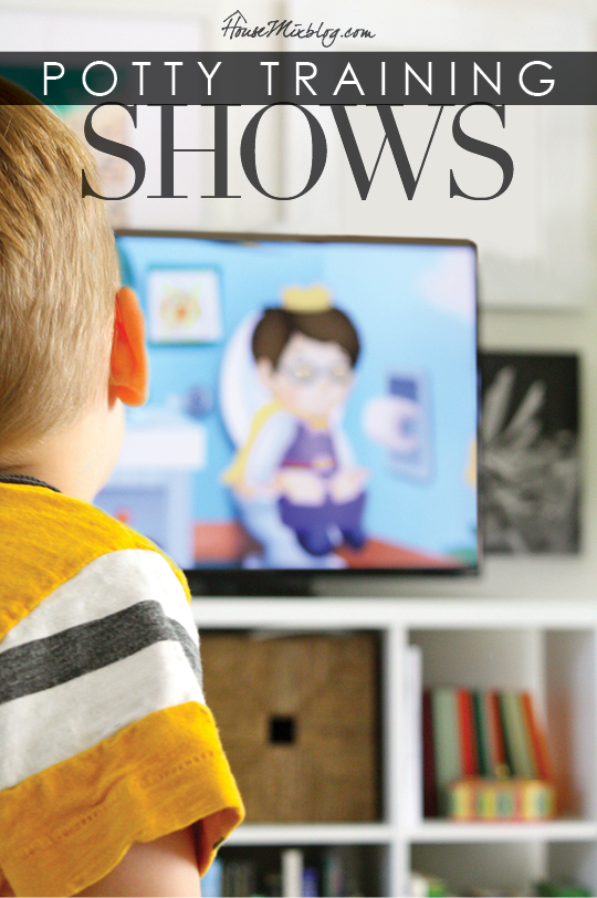 Potty training tv shows to watch on Amazon Prime or Netflix | House Mix