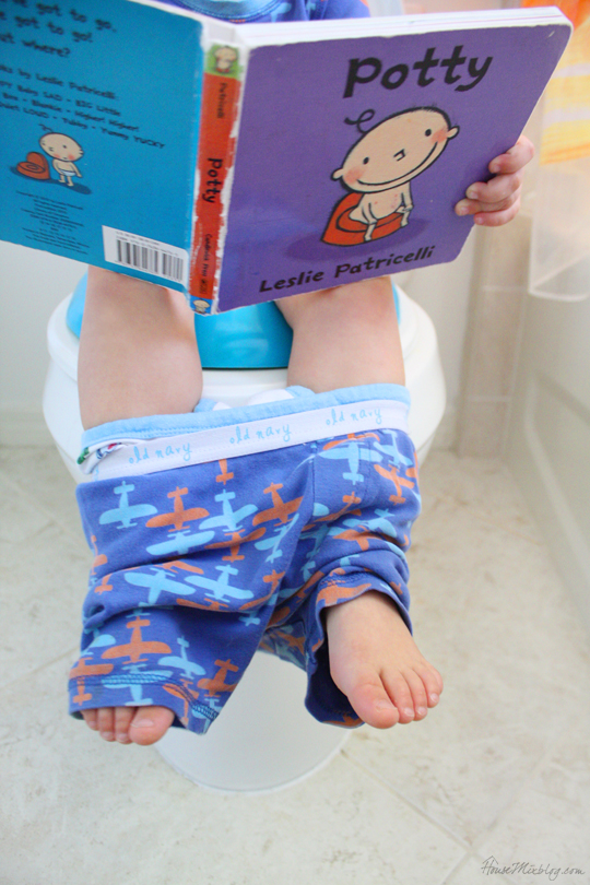 Potty training books and shows