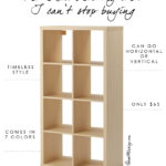 The Ikea shelving unit I can't stop buying