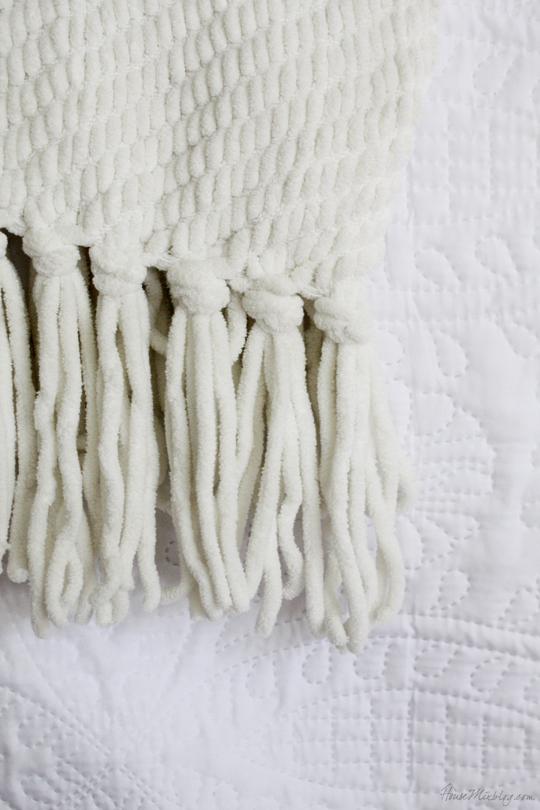 White textiles