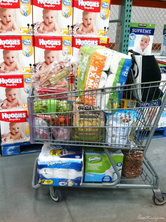 Third trimester checklist - stocking up on supplies to prepare for baby