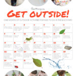 A month of outdoor activities for kids