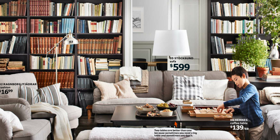 stealable ideas from ikea catalog