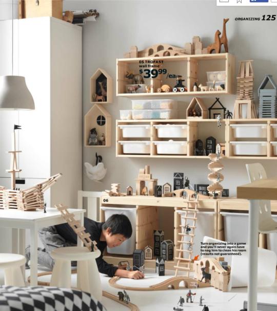 Ikea catlaog 2016 - kid organization