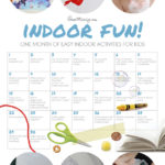 A month of indoor activities for kids