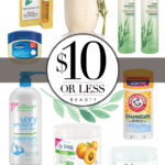 $10 or less: Natural bath and beauty products