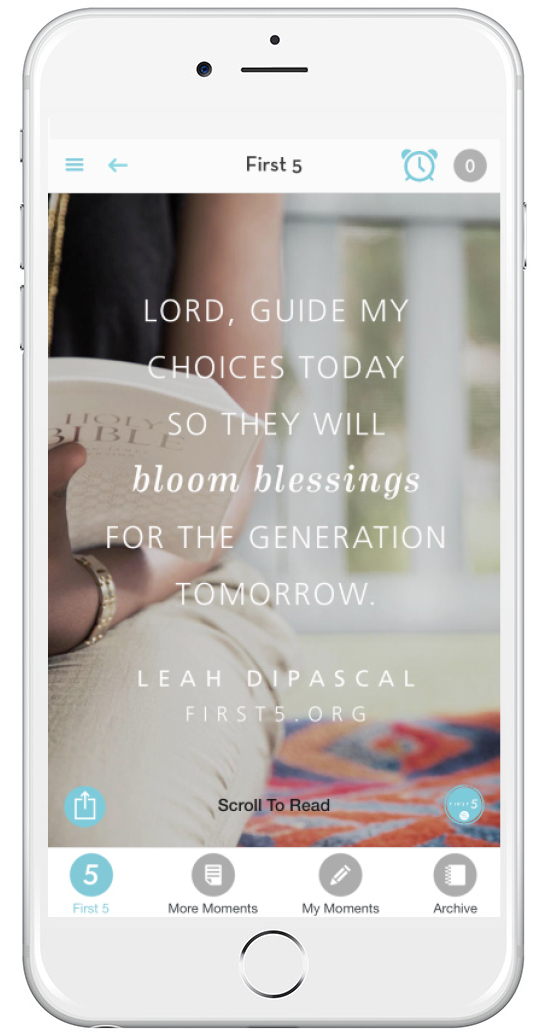 the devotional app I use every day