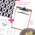 Menu planning for the non-cook