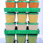 How to make baby food in 45 minutes a week and save 50 percent