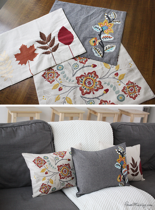 Easy 20-minute placemat pillow