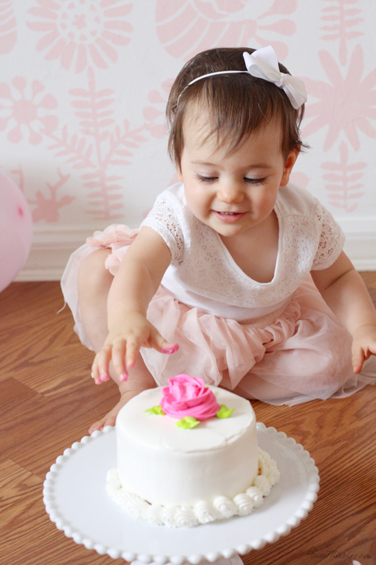 First birthday cake photos
