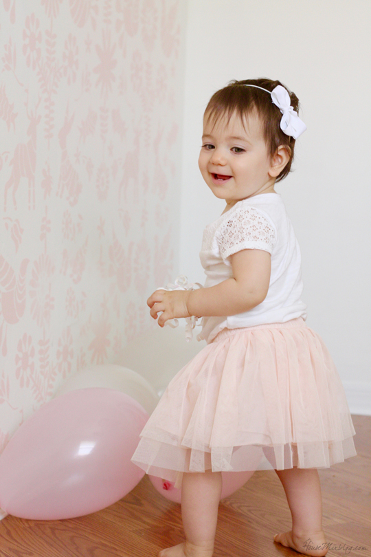 First birthday photo shoot ideas