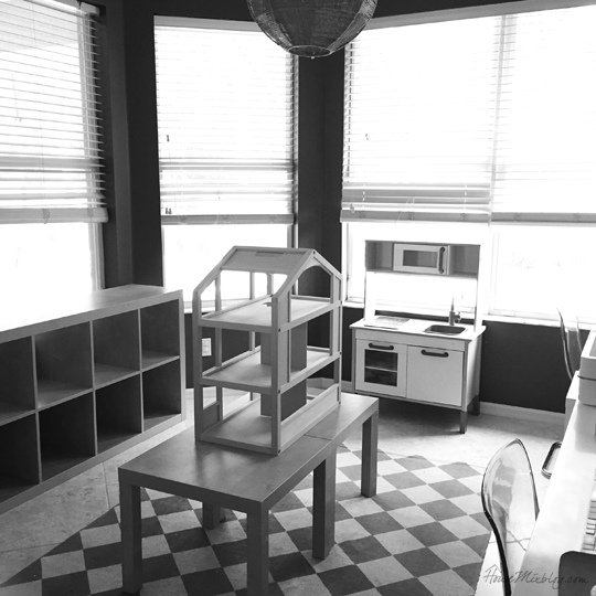 Empty playroom