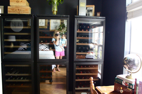 Giant wine refrigerators