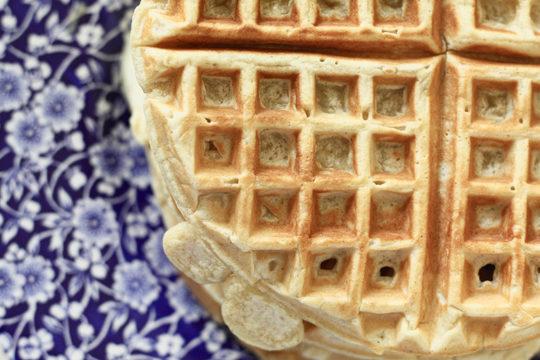DIY frozen waffles