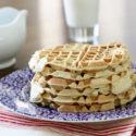 Healthy applesauce waffles to freeze