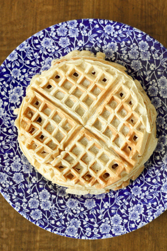 Make your own frozen waffles with ingredients you know how to pronounce