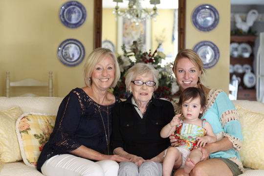 indiana trip - four generations