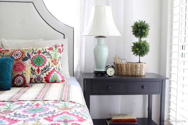 colorful-desert-santa-maria-bedspread-from-ross-and-nightstand-from-world-market