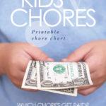 Kids chore chart to earn money