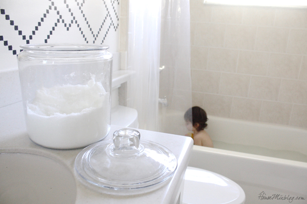 Baths themselves are perfect for a sick little person, but you might not have thought about epsom salts for kids.