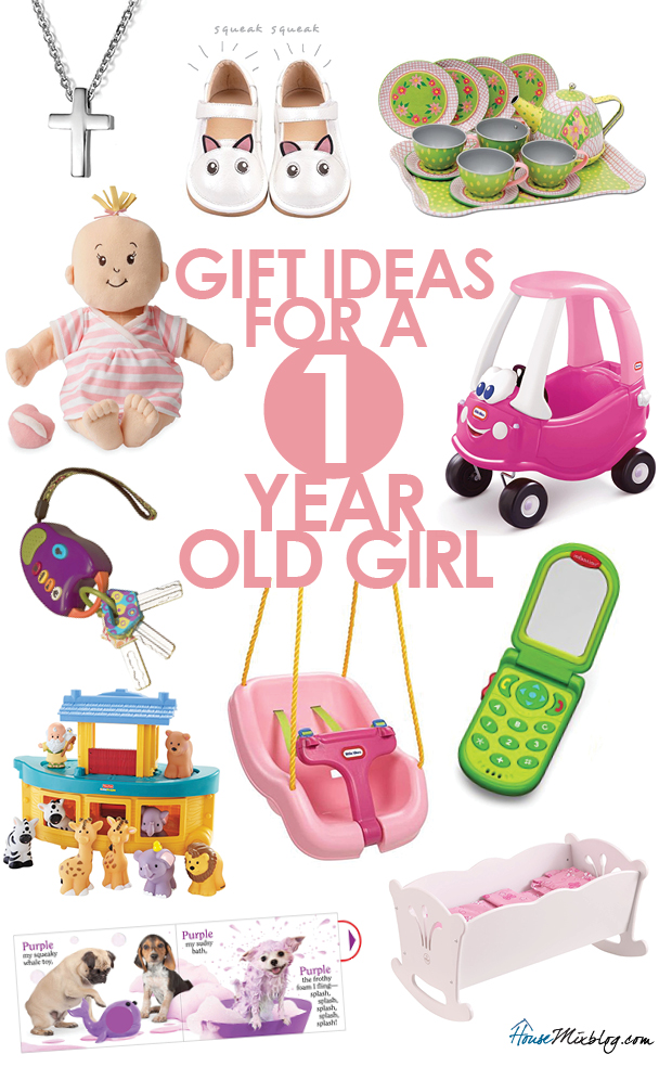 Toddler toys - Present or gift ideas for a one year old girl