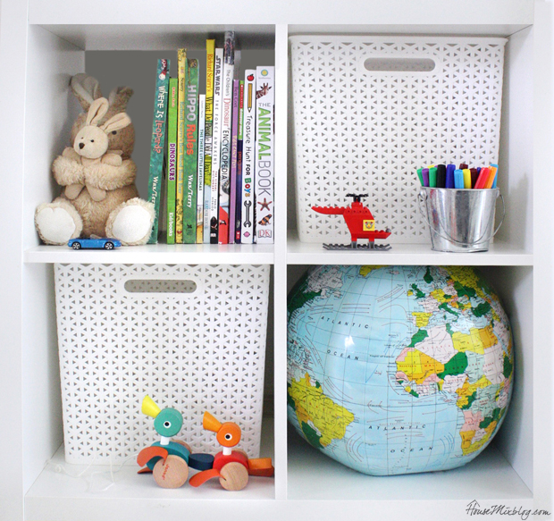 How to organize your house with kids - toy room, kids rooms, laundry, closets, school supplies