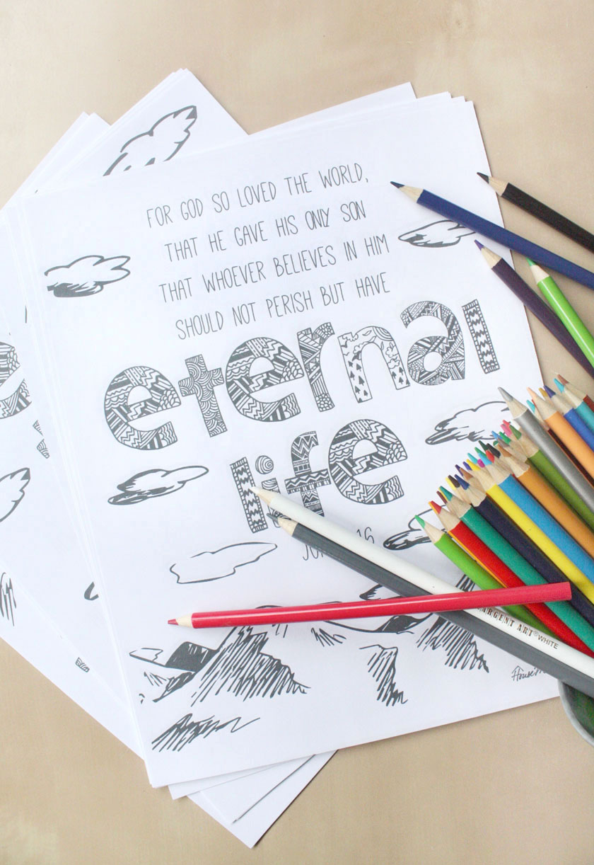 11 free printable Bible verse coloring pages for kids