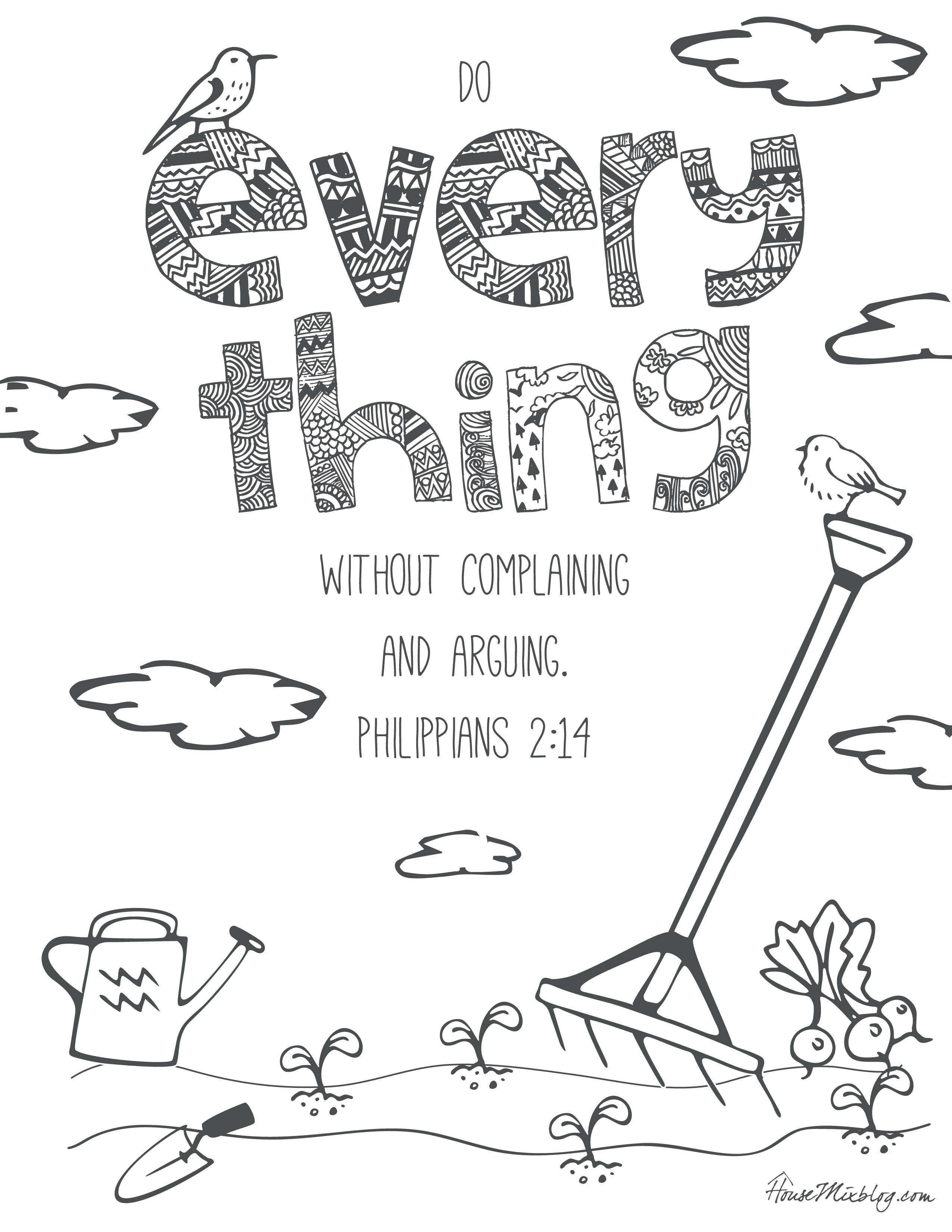 11 Bible verses to teach kids (with printables to color ...