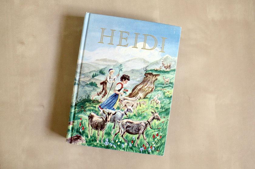 Vintage Heidi novel