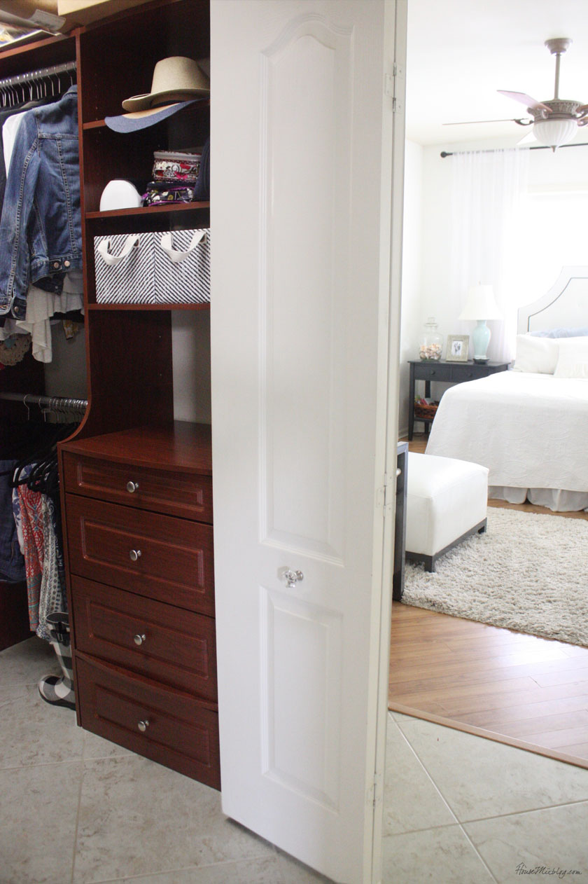 Closet and bedroom organization
