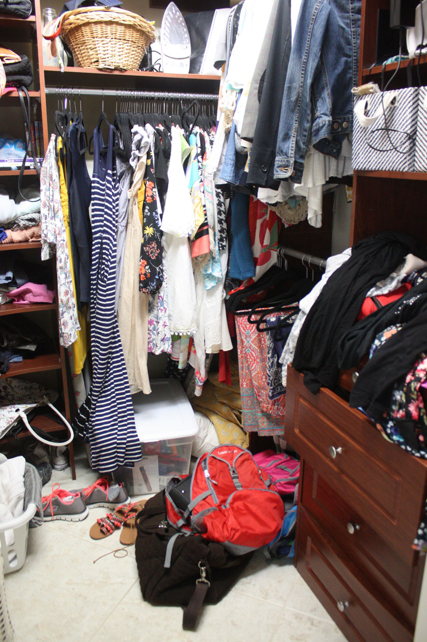 How to get your closet in order