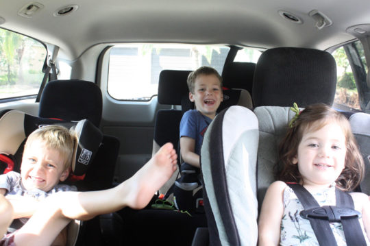 How to not listen to kiddie songs every car ride