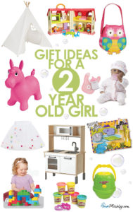 Toddler toys - Present or gift ideas for a two year old girl