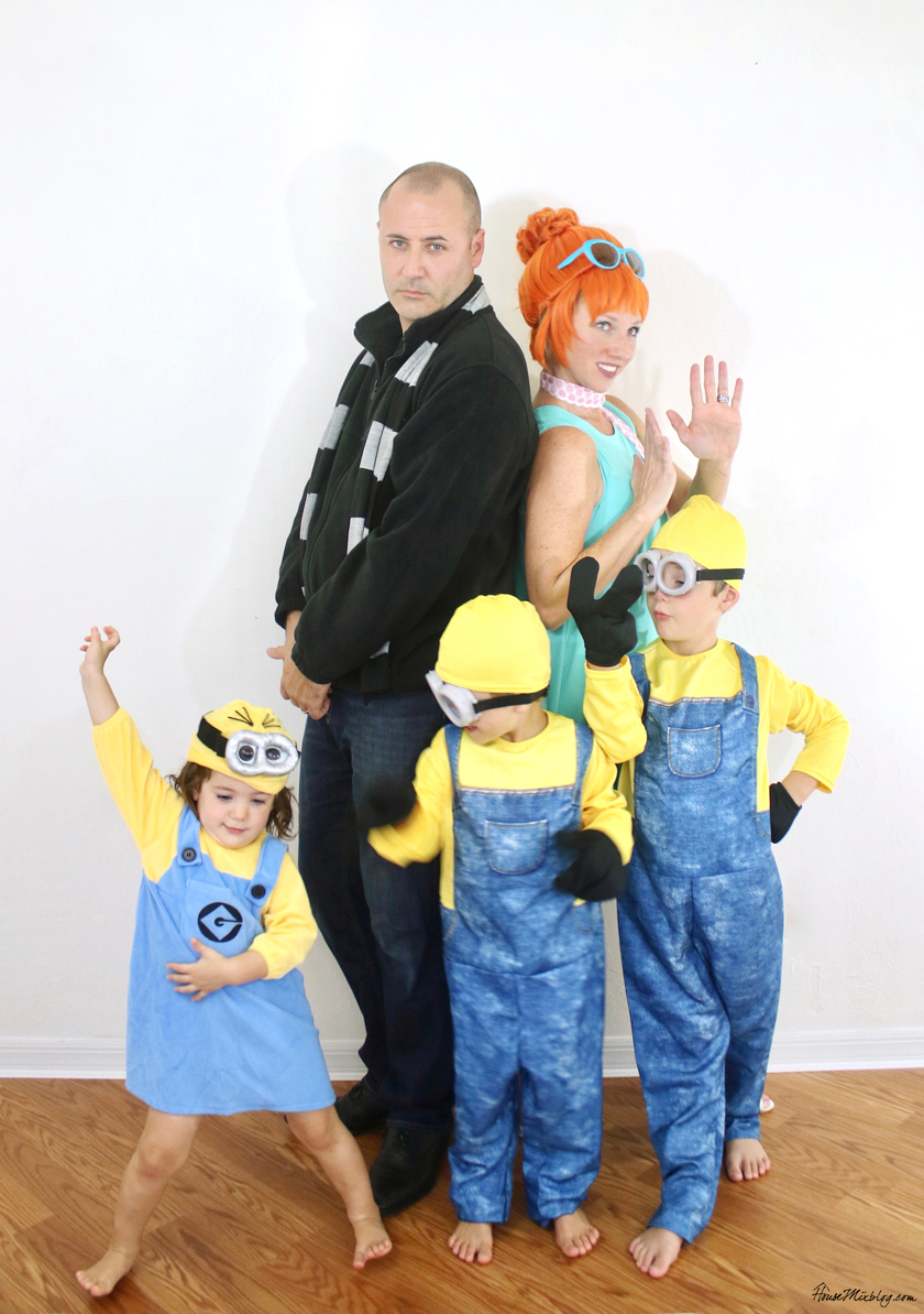 Family costume ideas - Despicable Me