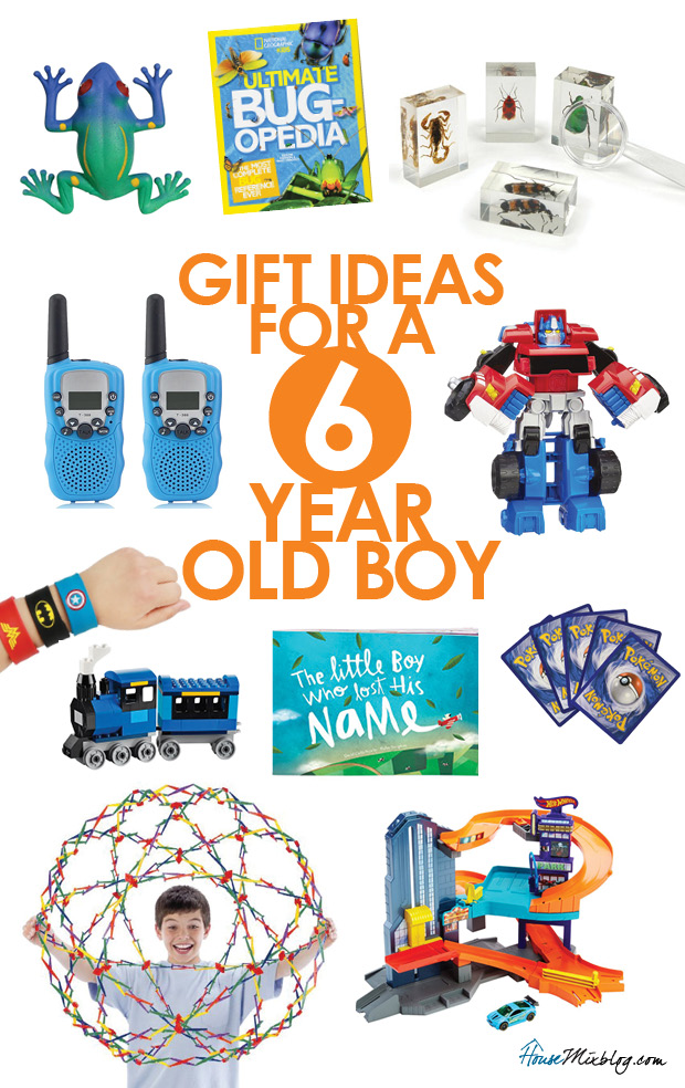 af6fca7b759 Gift and toy ideas for a 6 year old boy