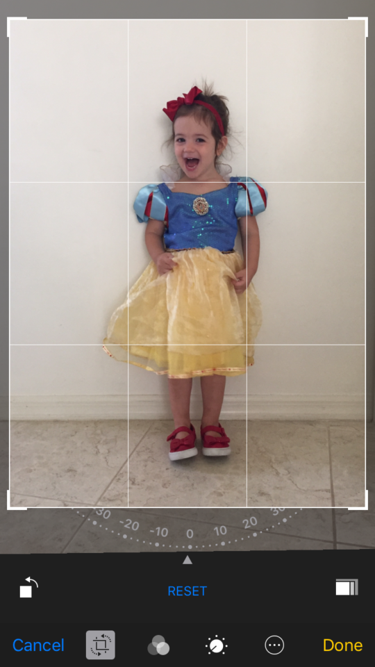 How to crop and straighten photos on your phone