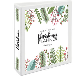 Instant download Christmas organizer and planner