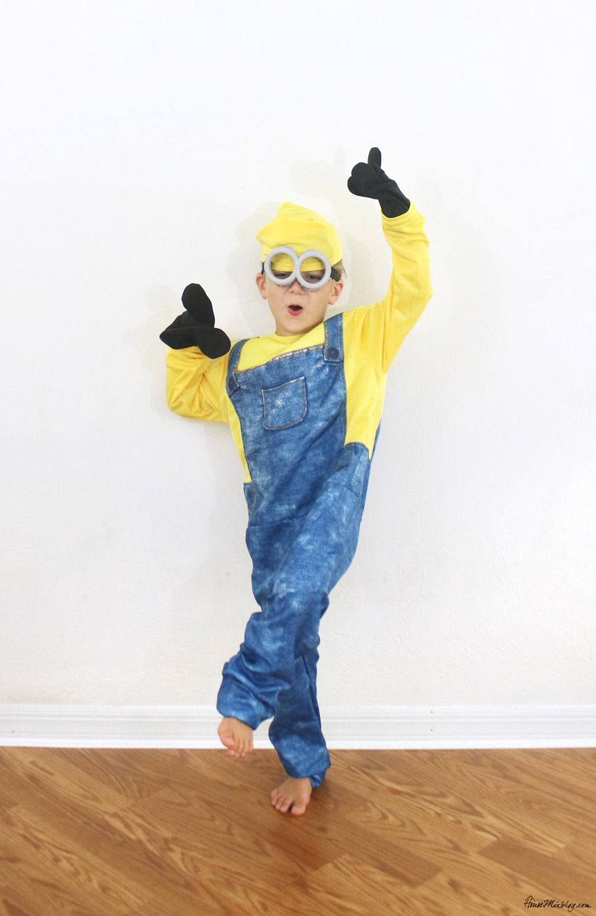 Kid minion costume