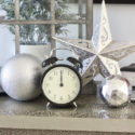 Last minute NYE decorations left from Christmas