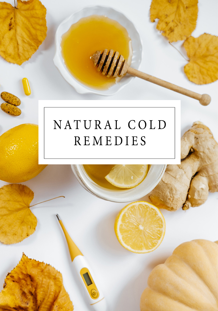 Natural cold remedies - huge list of natural ways that will get you better in no time