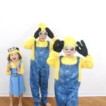 Family Halloween costume: Despicable Me