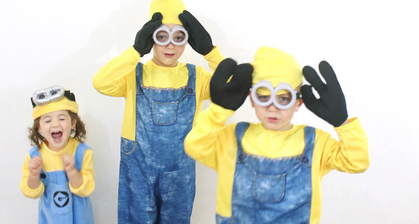 sc 1 st  House Mix & Family Halloween costume: Despicable Me | House Mix