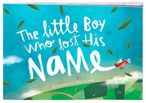 The Little Boy Who Lost His Name personalized book